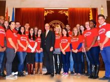 President's Visit Northeastern University